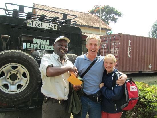 Arusha, Tanzanya: Hashim and some of us