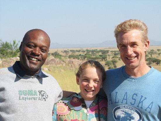 Arusha, Tanzania: warm goodbyes