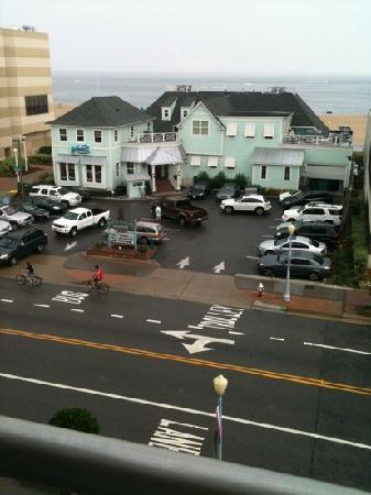 Ocean Key Resort : View from our 5th floor balcony.