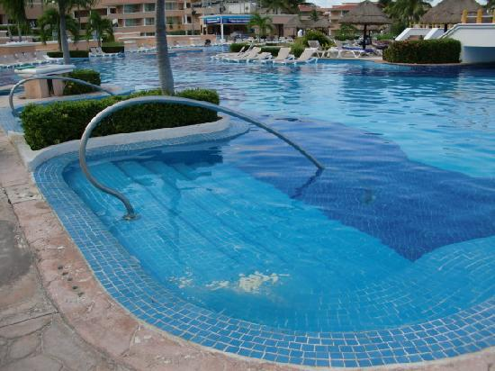 Moon Palace Cancun : gunky pool