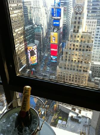 "New York Marriott Marquis: My best night ever!! With you... my forever ""Special"""