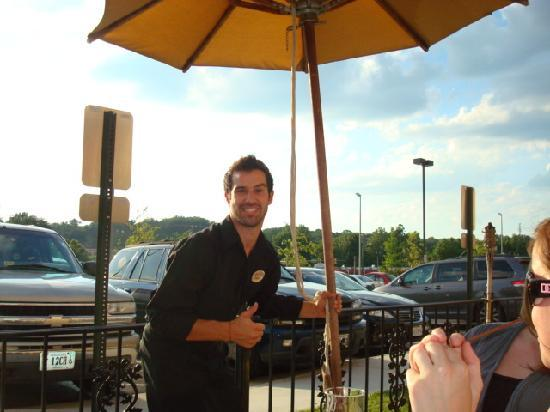 Hilton Garden Inn Lynchburg: Our awesome waiter