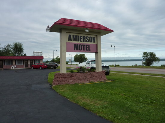 Anderson's Chequamegon Motel: Nice open view of Lake Superior