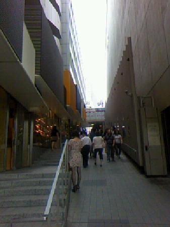 Mosaic Street: モザイク入口