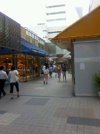 Shinjuku Mylord Mosaic Street : モザイク途中