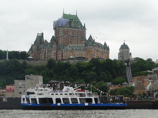 Le Chateau Frontenac Old Quebec