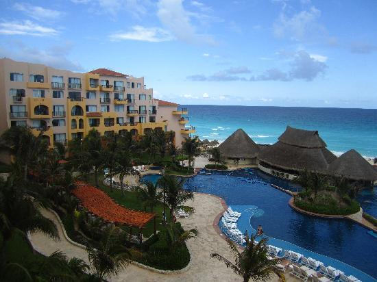 Fiesta Americana Condesa Cancun All Inclusive : view from our room