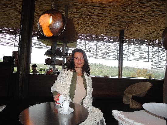 Singita Lebombo Lodge: el lobby