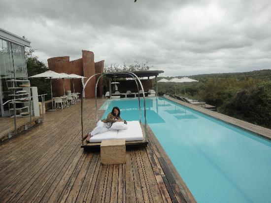 Singita Lebombo Lodge: la piscina