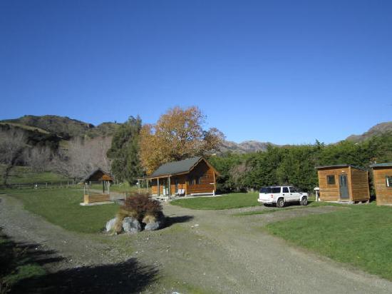 Waikene Lodge: Camping ground
