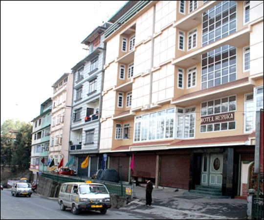 Best Hotel In Gangtok: Picture Of Hotel Heruka, Gangtok