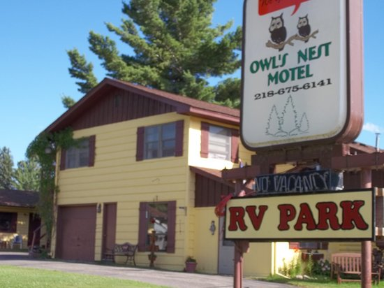 Hackensack, Миннесота: Owls Nest Motel