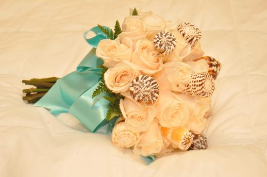 Sandals Royal Caribbean Resort and Private Island: My bouquet! Very good job!