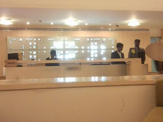 Comfort Inn Marina Towers: Reception