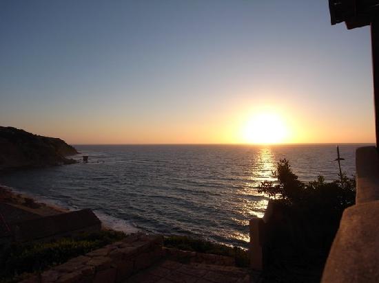 Gonnesa, Italia: tramonto