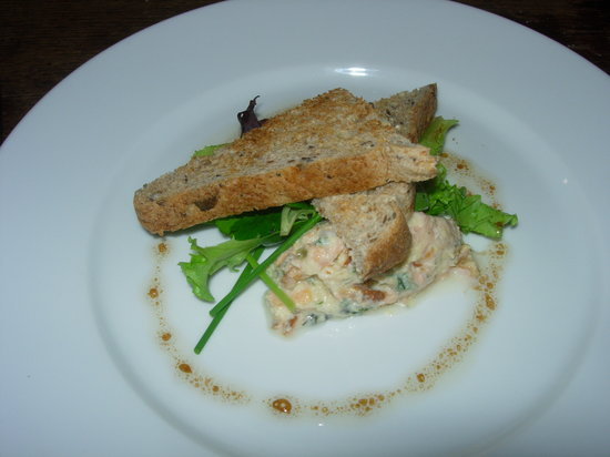 The Kings Arms: Smoked local trout pate