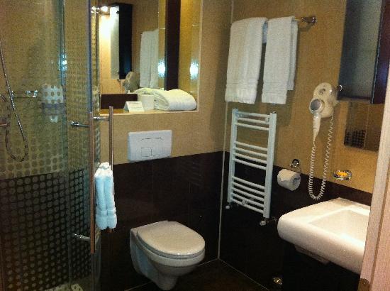 Z Executive Boutique Hotel: ok bathroom