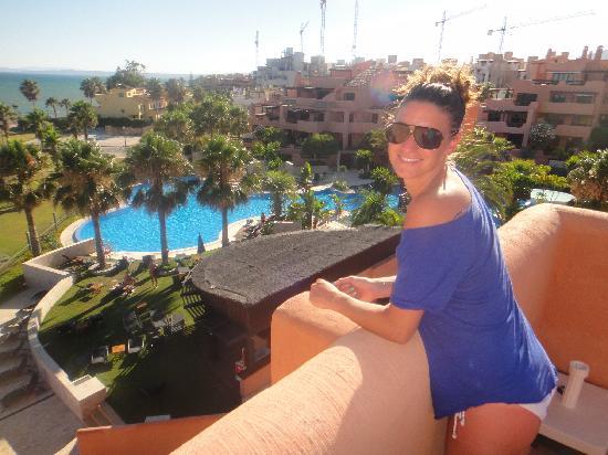 Mar Azul Resort Estepona : Uitzicht appartement