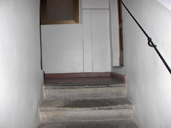 Hotel Borgo: scale d'ingresso