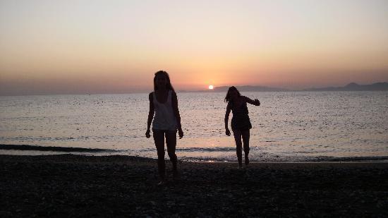 Sirene Beach Hotel: Nattbad!