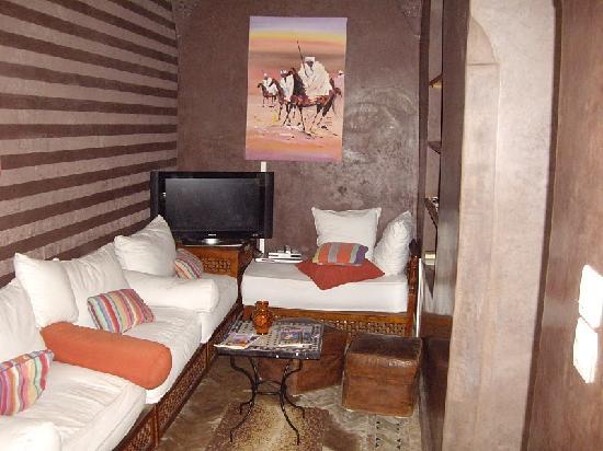 Riad Arocha: Salon Riad Arocha - Marrakech