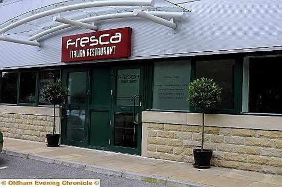 the outside of Frescas is not the most appealing but don't let it put you off!