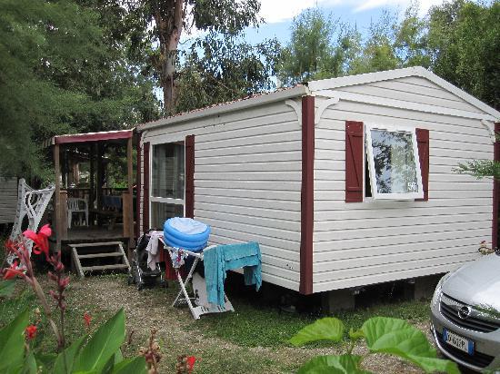 Camping Arinella Bianca: Mobil Home Loggia 4/6