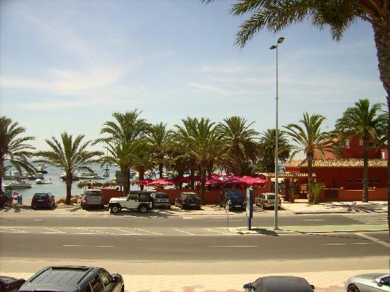 Escuela de Pieter: vieuw from the Mar Menor