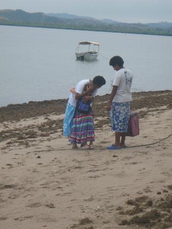 Остров Ликури, Фиджи: Saying goodbye was hard