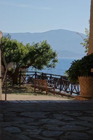 Scario, Italie : terrazzo sul mare
