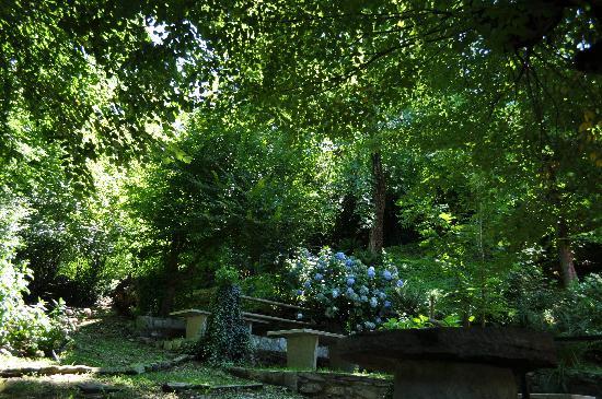 crotto del sergente: il giardino
