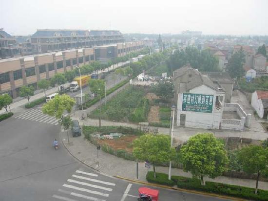 Joyful Star Hotel Pudong Airport : Der Blick aus dem Fenster