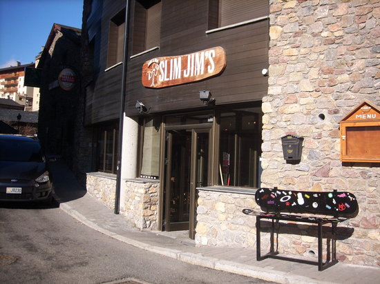Slim Jims: outside