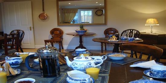 Pinfield Hotel: Breakfast Room