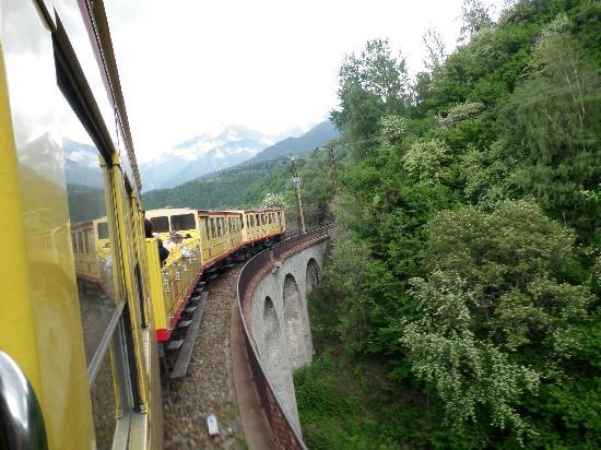 Le Train Jaune: Journey back to Villefranche