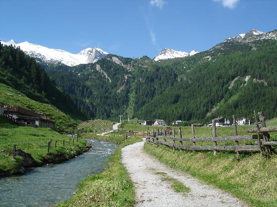 Hintertux, Autriche : start walking routes