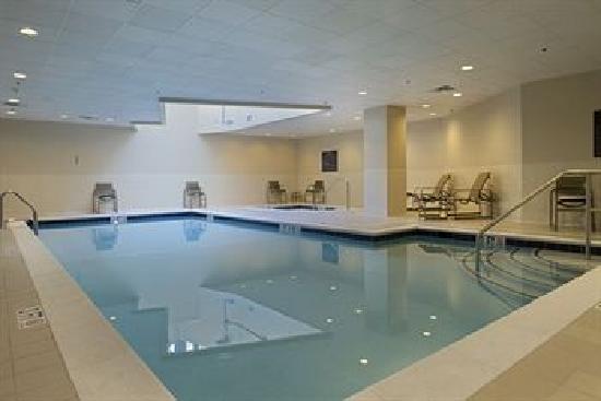 Hampton Inn Silver Spring : The indoor pool