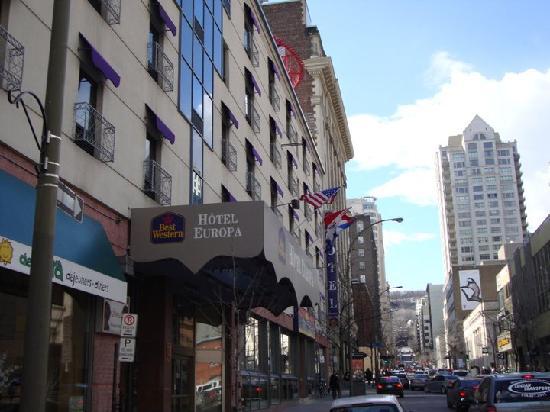 Best Western Plus Hotel Europa Montreal