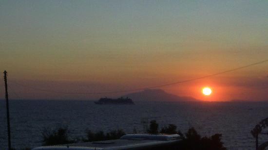 Hotel Piccolo Paradiso: tramonto dall'albergo 2