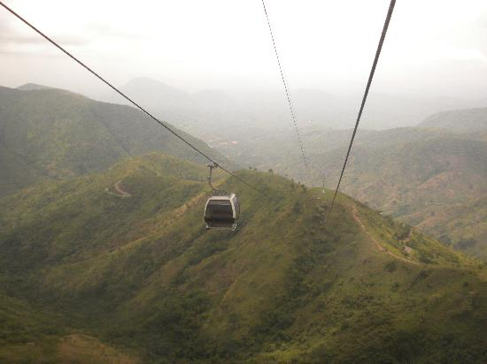 Obudu Mountain Resort: Our ride to the water park