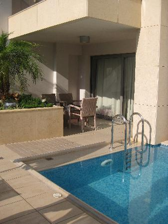 "Summertime Boutique Hotel & Spa: Rom 103 og ""private pool"""