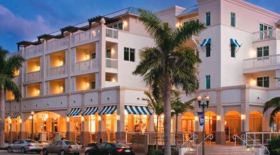 The Seagate Hotel & Spa: Facing Atlantic Avenue