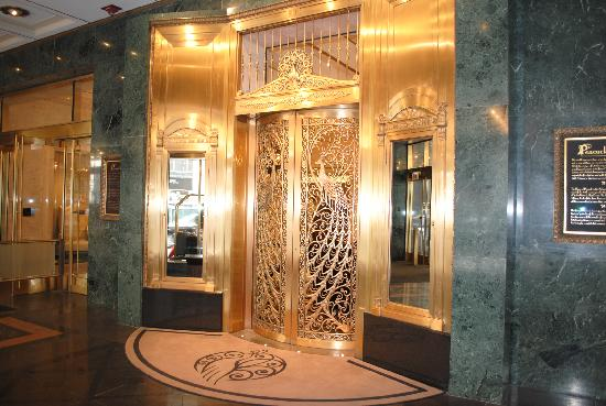 Peacock Door Picture Of The Palmer House Hilton Chicago