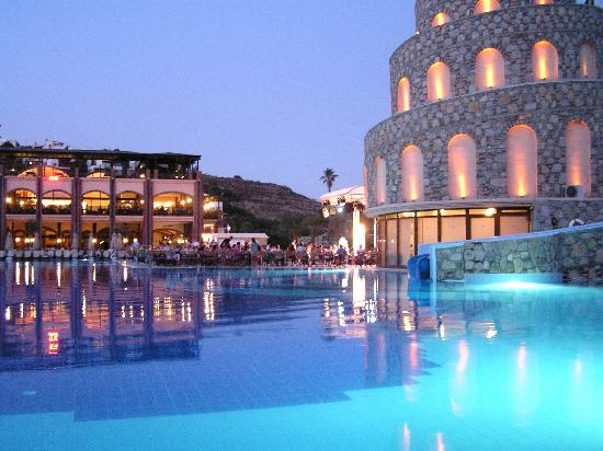 The Pool At Night Picture Of Bodrum Imperial Akyarlar