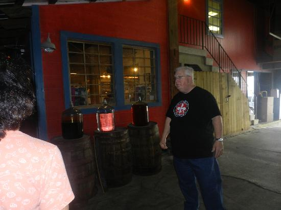 Old New Orleans Rum Distillery: Bob, our tour guide