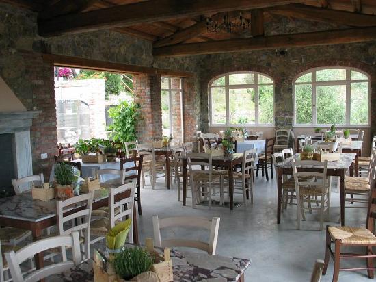 Agriturismo La Burlanda: La sala ristornate