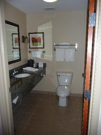 Holiday Inn Express Rawlins: Bathroom