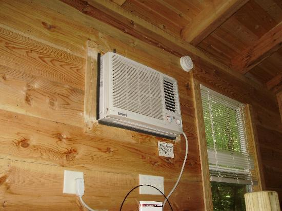Bear Creek Lodge and Cabins: Your a/c unit