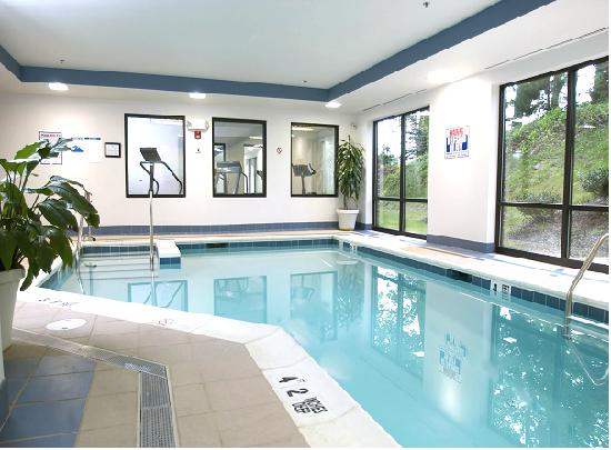 Holiday Inn Express Hotel & Suites West Chester : Get your daily workout in our heated-indoor pool and convenient fitness center!