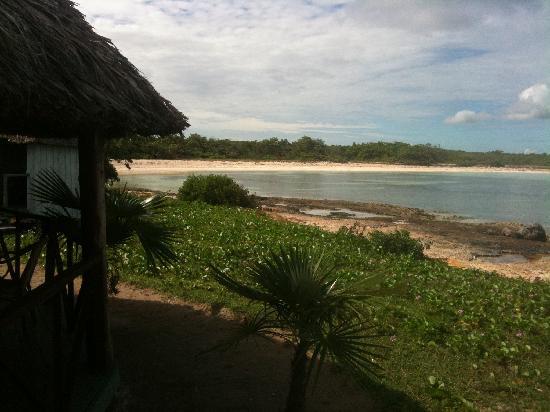 Hotel Villa Cayo Coco: View from the bar at Prohibida